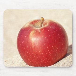 roter Apfel Mousepads