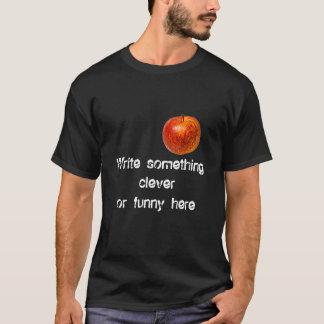 Roter Apfel T-Shirt