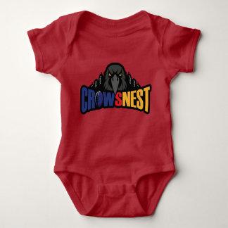 Roter Baby-Bodysuit Baby Strampler