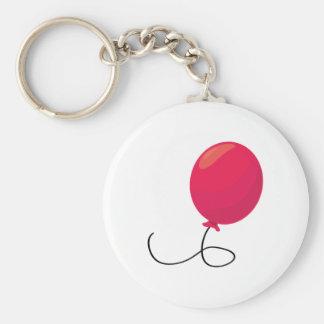 Roter Ballon Schlüsselanhänger