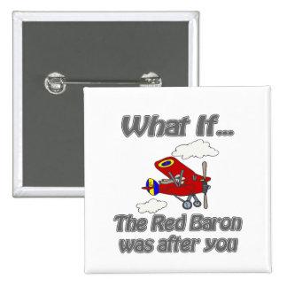 Roter Baron Anstecknadel