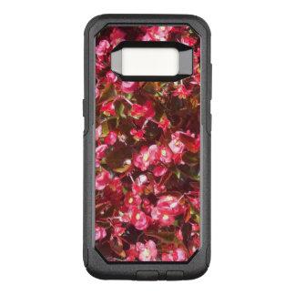 Roter Begonien Otterbox Pendler-Kasten OtterBox Commuter Samsung Galaxy S8 Hülle