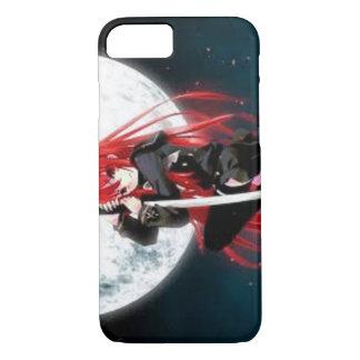 Roter behaarter Anime-Kasten iPhone 8/7 Hülle