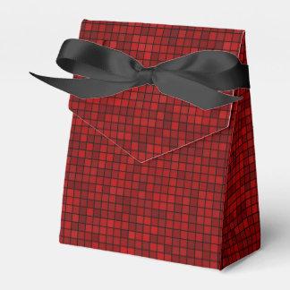 Roter Bevorzugungs-Kasten des Pixel-zehn Geschenkschachtel