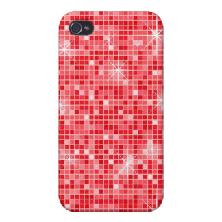 Roter *Bling Bling* iPhone4 Kasten iPhone 4/4S Cover
