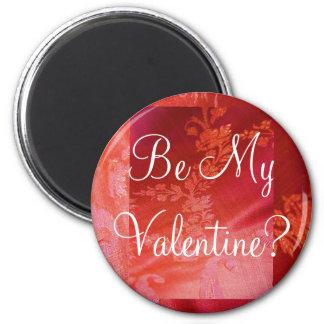 Roter Blumenmagnet des Valentinsgruß-I - kundenger Kühlschrankmagnet