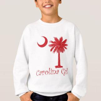 Roter Carolina-MädchenPalmetto Sweatshirt
