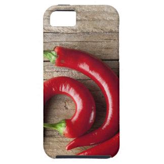 Roter Chili-Pfeffer Etui Fürs iPhone 5