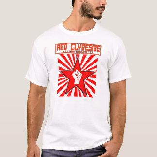 Roter Clydeside roter Stern-schottisches T-Shirt