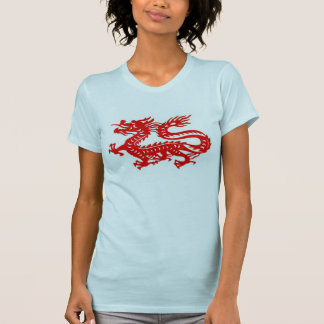 Roter Drache T-Shirt