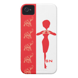 Roter Elefant iPhone 4 Kasten Case-Mate iPhone 4 Hülle