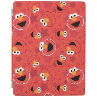 Roter Elmo stellt Muster gegenüber iPad Hülle