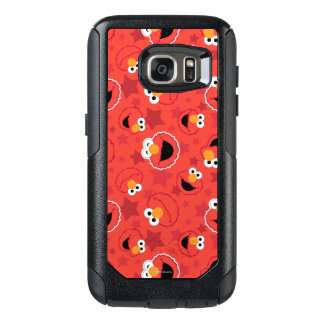 Roter Elmo stellt Muster gegenüber OtterBox Samsung Galaxy S7 Hülle