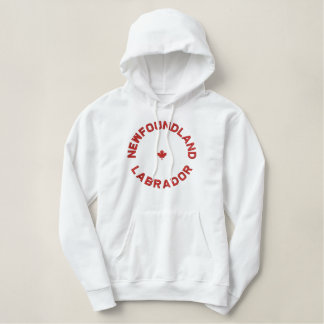 Roter Entwurf Neufundland und LabradorHoodie Hoodie