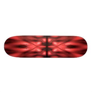 Roter Fantasiehintergrund 20,1 Cm Skateboard Deck
