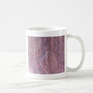 Roter Felsen im Laufe der Zeit beeinflußt durch Kaffeetasse