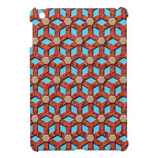 Roter Felsen mit Ziegeln gedeckte Hexe MiniiPad Ab Hüllen Für iPad Mini