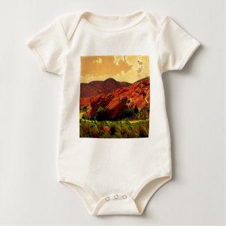 Roter Felsen-Park Denver Colorado Baby Strampler
