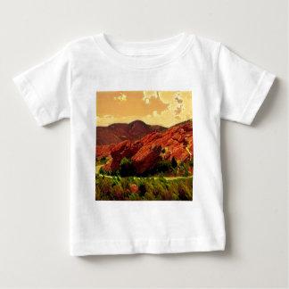 Roter Felsen-Park Denver Colorado Baby T-shirt