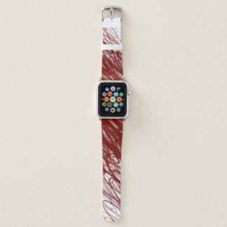 Roter Fluss- Apple passen auf Apple Watch Armband
