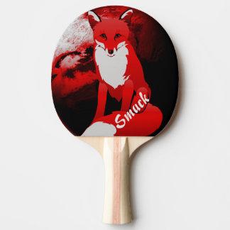 Roter Fox-Entwurf personalisiert Tischtennis Schläger