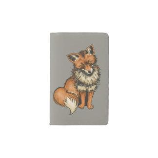 Roter Fox Moleskine Taschennotizbuch