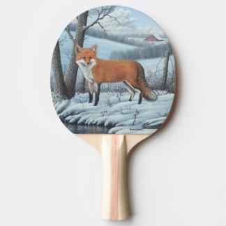 Roter Fox Tischtennis Schläger