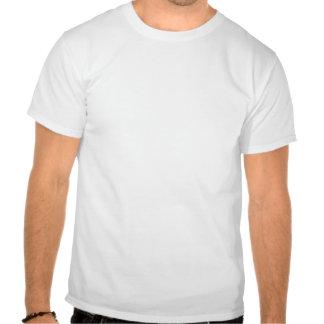 Roter Fox, Vulpes fulva, auf Klotz, hallo T-Shirts