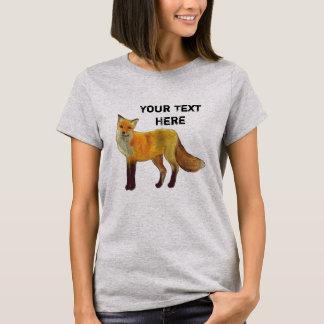 Roter Fox-Wald T-Shirt