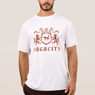 Roter Fox-Wappen T-Shirt
