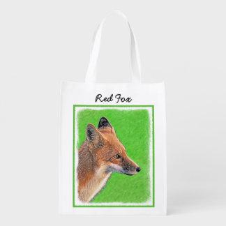 Roter Fox Wiederverwendbare Einkaufstasche