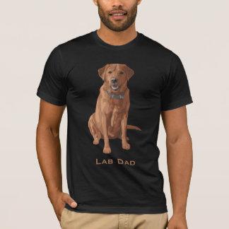 Roter gelber Labrador Retriever-Hund T-Shirt