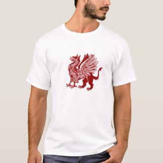 Roter Greif - mittelalterlicher Entwurf T-Shirt