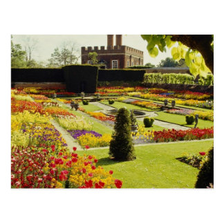 Roter Hampton-Gerichts-Palast-Garten Postkarten