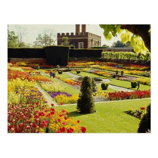 Roter Hampton-Gerichts-Palast-Garten, Postkarten