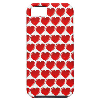 Roter Herz-Telefon-Kasten iPhone 5 Schutzhülle