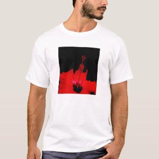 Roter Hibiskus T-Shirt