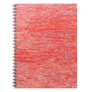 Roter Hintergrund Spiral Notizblock