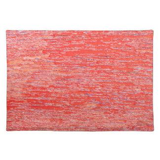 Roter Hintergrund Stofftischset