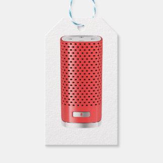 Roter intelligenter Lautsprecher Geschenkanhänger