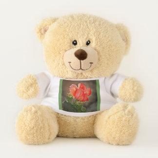 Roter Kaktus-Blüten-Teddybär Teddybär