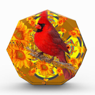 roter Kardinalsvogel Auszeichnung