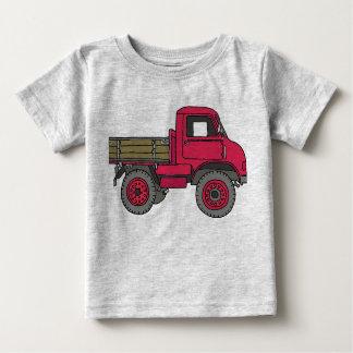 Roter Lastwagen Baby T-shirt
