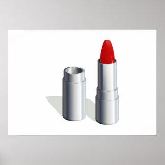 Roter Lippenstift Plakate