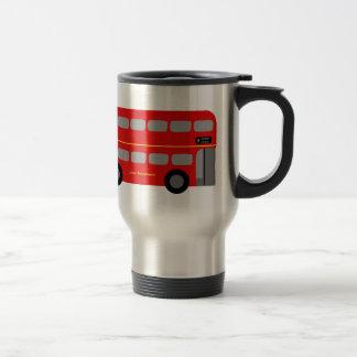 Roter London-Bus Reisebecher