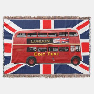 Roter London-Doppeldecker-Bus Decke