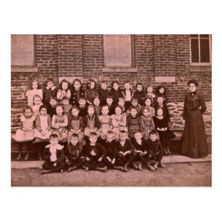 Roter Löwe-1. Grad-Klasse von 1901 Postkarte