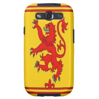 Roter Löwe Schottlands zügellose Flagge Galaxy S3 Hülle