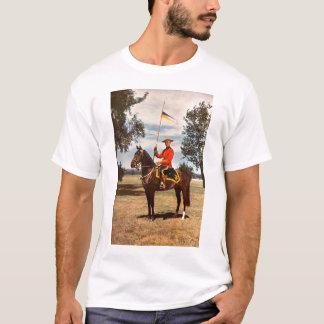 Roter Mantel T-Shirt