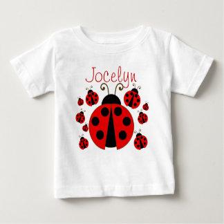 Roter Marienkäfer Baby T-shirt